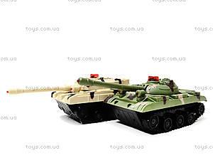 Танковый бой на радиоуправлении с датчиком попадания, ZYB-B0491, детские игрушки