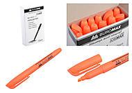 """Набор текст-маркеров """"Buromax"""", оранжевые (12 штук в упаковке), BM.8903-11, toys.com.ua"""
