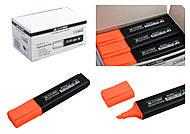 Текстовый маркер оранжевый JOBMAX (12 штук в упаковке), BM.8902-11, toys