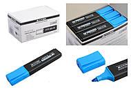 Текстовый маркер синий JOBMAX (12 штук в упаковке), BM.8902-02, детский