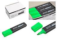 Текст-маркер, JOBMAX, зеленый (12 шт в упаковке), BM.8902-04, Украина