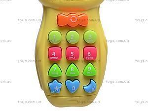 Телефон детский обучающий, 25801E, купить