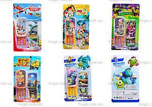 Телефон для детей с героями мультфильмов, LT701-706-709-710-711-712