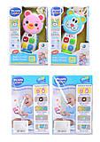 Телефон «Животные» для деток, LT3983456, toys