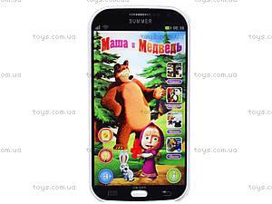 Интерактивный телефон для детей «Маша и медведь», CS2011, фото