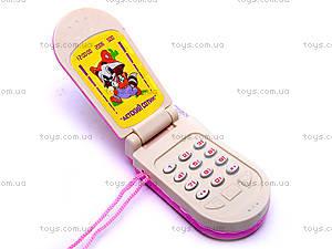 Телефон мобильный «Крошка енот», 500моб