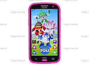 Интерактивный телефон «Поли Робокар», 16336-2B, купить