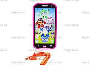 Интерактивный телефон «Поли Робокар», 16336-2B, цена