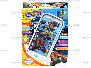 Телефон мобильный «Вспыш» с музыкой, DT030A, фото