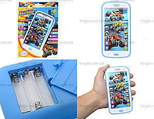 Телефон мобильный «Вспыш» с музыкой, DT030A, цена