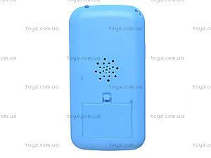 Телефон мобильный «Вспыш» с музыкой, DT030A, игрушки