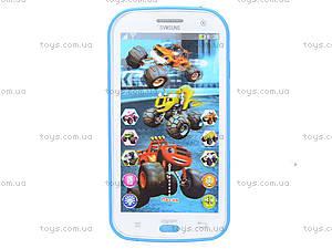 Телефон мобильный «Вспыш» с музыкой, DT030A, детские игрушки