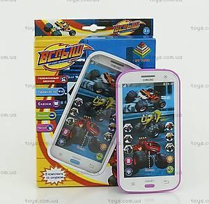 Телефон мобильный «Вспыш» с музыкой, DT030A
