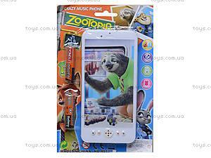 Детский мобильный телефон «Zootopia», 8017, купить