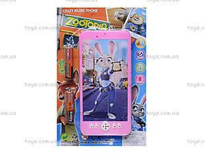 Детский мобильный телефон «Zootopia», 8017, фото