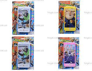 Детский мобильный телефон «Zootopia», 8017