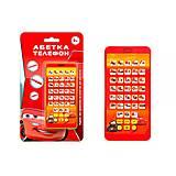 Телефон музыкальный «Тачки: Азбука», KI-7044, игрушки
