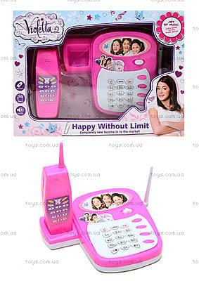 Телефон музыкальный Violetta, SY77-12