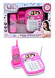 Телефон музыкальный Violetta, SY77-12, купить