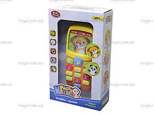 Детский телефон «Дружок», 7388, цена