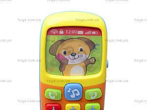 Детский телефон «Дружок», 7388, детские игрушки