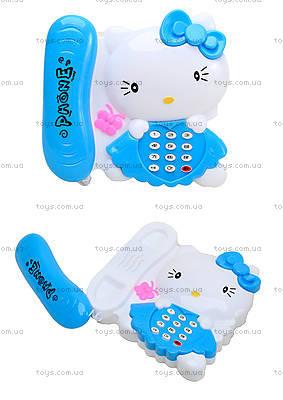 Игрушечный телефон с трубкой Hello Kitty, 988-2