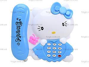Игрушечный телефон с трубкой Hello Kitty, 988-2, отзывы