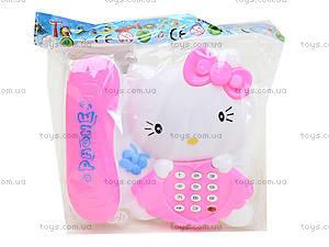 Игрушечный телефон с трубкой Hello Kitty, 988-2, цена