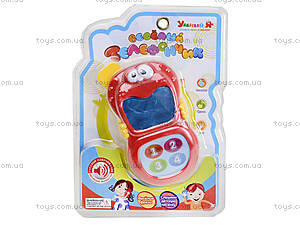 Ярко-красный детский мобильный телефон на планшете, ZYE-E0070, фото