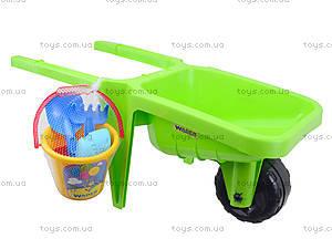 Детская тележка для песка «Гигант» с набором , 74810, toys.com.ua