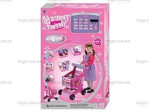 Тележка для покупок с продуктами, XS-600A