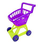 Тележка фиолетовая «Супермаркет», KW-36-001, фото