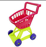 Тележка розовая «Супермаркет», KW-36-001