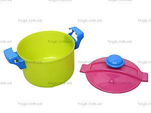 Детская игрушечная тележка с набором посуды, 36-005, купить