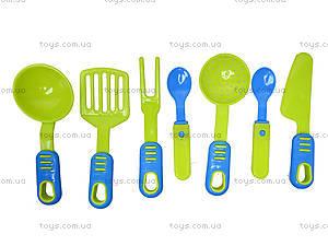 Детская игрушечная тележка с набором посуды, 36-005, цена