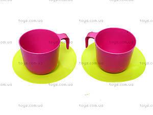 Детская игрушечная тележка с набором посуды, 36-005, детские игрушки