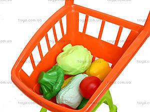Игрушечная тележка с овощами, 36-003, купить