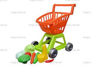 Игрушечная тележка с овощами, 36-003, отзывы