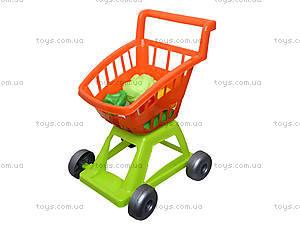 Игрушечная тележка с овощами, 36-003, цена