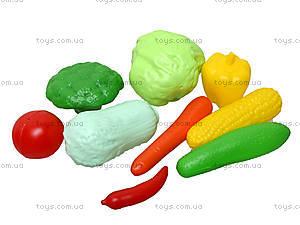 Игрушечная тележка с овощами, 36-003, игрушки