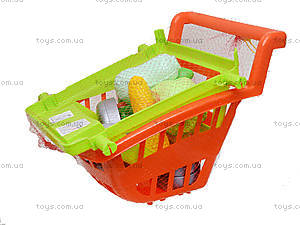 Игрушечная тележка с овощами, 36-003, магазин игрушек
