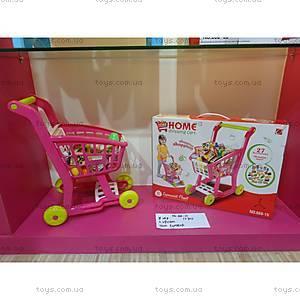 Тележка с продуктами детская, 668-15