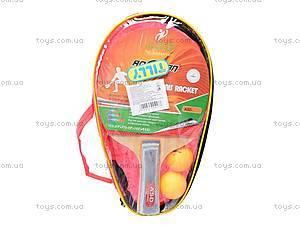 Теннис настольный с ракетками и мячиками, BT-PPS-0002
