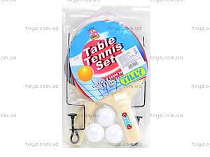 Игровой комплект для настольного тенниса, BT-PPS-0020, купить