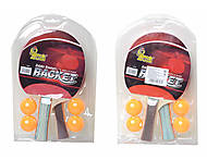 Ракетки для настольного тенниса и 4 мяча, BT-PPS-0034, фото