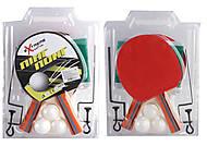 Теннис настольный 2 ракетки + 3 мячика + сетка, B26178, игрушки