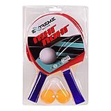 Теннис настольный Extreme Motion (2 ракетки, 3 мячика в слюде), TT2135, детский