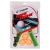 Теннис настольный TT2115 (2 ракетки, 3 мячика), TT2115, набор