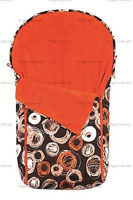 Теплый непромокаемый конверт Cocoon, оранжевый, 0166-49