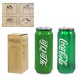 Термос-Термокружка «Coca-Cola» зеленый, H-195, детский